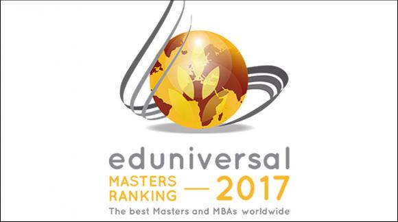 Eduniversal International's Five Palmes of Excellence