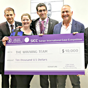 Rotman School of Management is this year's winner of Sofaer International Case Competition