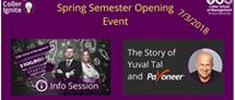 Coller $100,000 Startup Competition Info-Session and the Story of Payoneer